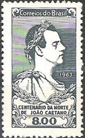 [The 100th Anniversary of the Death of Joao Caetano, 1808-1863, type ALT]