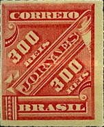 [Newspaper Stamps, type AM14]