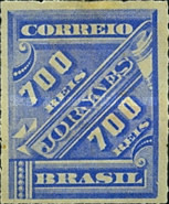 [Newspaper Stamps, type AM16]