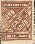 [Newspaper Stamps, type AM17]