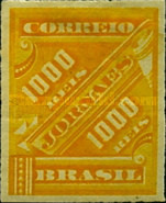 [Newspaper Stamps, type AM8]