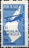 [Aviation Week and the 3rd Anniversary of the National Stamp Exhibition - Sao Paulo, Brazil, type ANR]