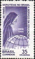 [Airmail - The 100th Anniversary of the Dorothean Sisters Educational Work in Brazil, type AOE]