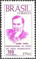 [The 50th Anniversary of the Death of Ruben Dario, 1867-1916, type AOR]