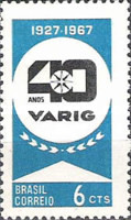 [The 40th Anniversary of the Varig Airlines, type APJ]