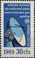 [Inauguration of Satellite Communications System, type ASA]