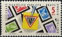 [The 50th Anniversary of the Sao Paulo Philatelic Society, type ASH]