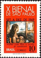 [The 10th Anniversary of the Art Exhibition Biennale, Sao Paulo, type ASM]