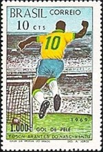 [Footballer Pele's 1,000th Goal, type ATJ]