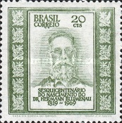 [The 150th Anniversary of the Birth of Doctor Hermann Blumenau, German Immigrant Leader, 1819-1899, type ATN]