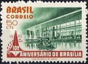 [The 10th Anniversary of Brasilia, type ATX]