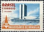 [The 10th Anniversary of Brasilia, type ATY]