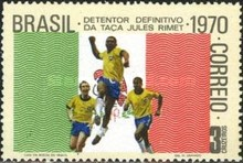 [Brazil's Third Victory in the Football World Cup, type AUJ]