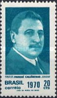[The 100th Anniversary of the Birth of Pandia Calogeras, 1870-1934, type AUK]