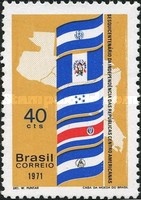 [The 150th Anniversary of the Central American Republics' Independence, type AVJ]
