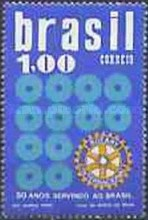 [The 50th Anniversary of the Rotary Club in Brazil, type AYB]