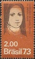 [The 100th Anniversary of the Birth of Saint Theresa of Lisieux, 1873-1897, type AZK]
