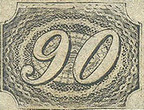 [Value Stamps - Greyish or Yellowish Paper, type B3]