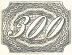[Value Stamps - Greyish or Yellowish Paper, type B5]