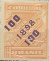 [Newspaper Stamps of 1889 Surcharged, type BB]