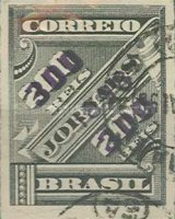 [Newspaper Stamps of 1889 Surcharged, type BB2]