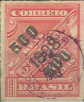 [Newspaper Stamps of 1889 Surcharged, type BB3]