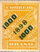 [Newspaper Stamps of 1889 Surcharged, type BB6]