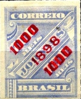 [Newspaper Stamps of 1889 Surcharged, type BB7]