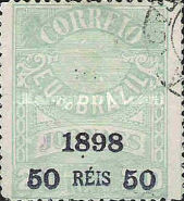 [Newspaper Stamps of 1890 & 1891-1893 Surcharged, type BC1]