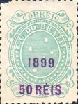 [Issue of 1890-1891 Surcharged in Lilac Red, type BE]
