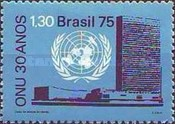 [The 30th Anniversary of the United Nations, type BED]