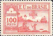 [The 400th Anniversary of the Discovery of Brazil, type BF]