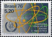 [The 20th Anniversary of the International Atomic Energy Conference, Rio de Janeiro, type BFT]