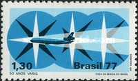 [The 50th Anniversary of the Varig State Airline, type BIR]