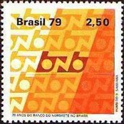 [The 25th Anniversary of the Northeast Bank of Brazil, type BLP]