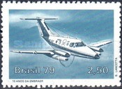 [The 10th Anniversary of the Brazilian Aeronautical Industry, type BLX]