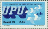 [The 18th Anniversary of the UPU Congress, Rio de Janeiro, type BMA]