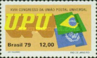 [The 18th Anniversary of the UPU Congress, Rio de Janeiro, type BMD]