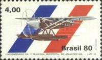 [The 50th Anniversary of the First South Atlantic Airmail Flight, type BNU]