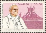 [Papal Visit and the 10th Anniversary of the National Eucharistic Congress - Pope John Paul II and Cathedrals, type BOA]