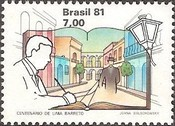 [The 100th Anniversary of the Birth of Lima Barreto, 1881-1922, type BPS]