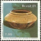 [International Museum Day - Artifacts from Brazilian Museums, type BPV]