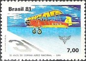 [The 50th Anniversary of the National Airmail Service, type BQG]