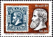 [Day of the Stamp - The 100th Anniversary of Pedro II