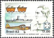 [The 100th Anniversary of the Birth of Henrique Lage, 1881-1941, type BRT]