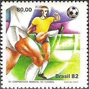 [Football World Cup - Spain, type BRV]