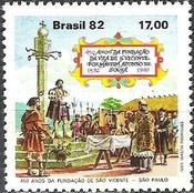 [The 450th Anniversary of Sao Vicente, type BSV]