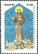 [The 800th Anniversary of the Birth of Saint Francis of Assisi, 1182-1226, type BTE]