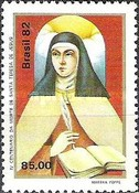 [The 400th Anniversary of the Death of Saint Theresa of Jesus, 1515-1582, type BTS]