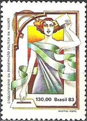[The 50th Anniversary of the Suffrage of Women - Brazil, type BUW]